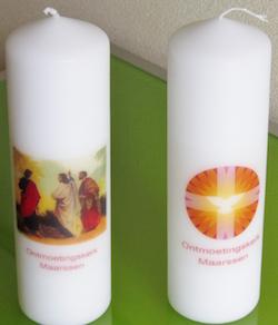 Liturgische Kaarsen Kopen.Speciale Kaarsen Te Koop Ontmoetingskerk Maarssen